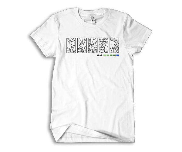 Stash Tee - White (S)
