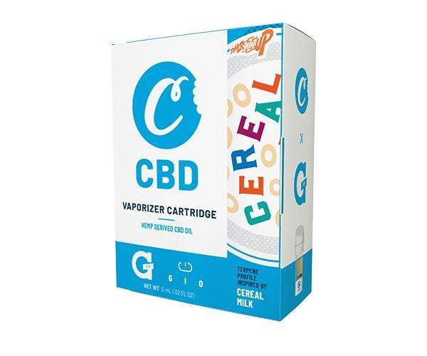 Cookies CBD - Gio Cartridge - Cereal Milk product image 1