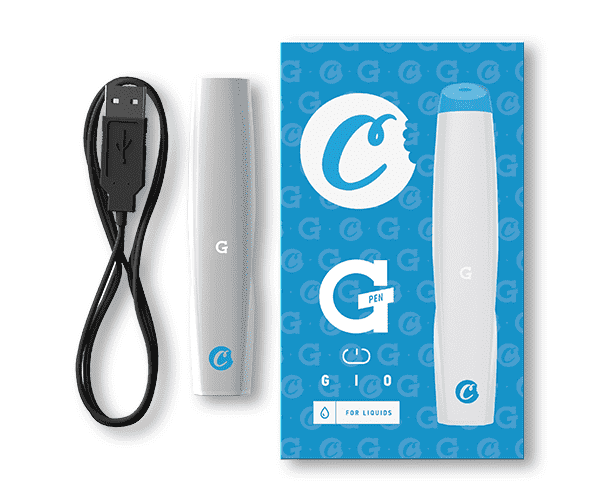 Cookies x G Pen Gio Battery, White