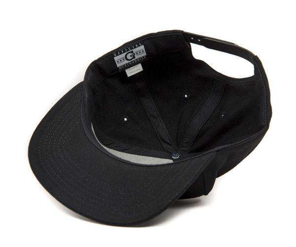 G Snapback - Black/Black - Grenco Science