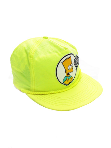 SOLD - Rad 1990 Bart Simpson Who Are You! Snapback