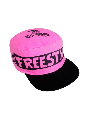 Wicked 80s BMX Freestyle Cotton Flat Top Painters Cap