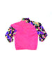 SOLD - Insane 80s Quad Neon DKP Abstract Surf Shell Windbreaker - S / M