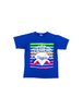 Rare 1991 Neon Brooklyn Dodgers Harley MLB 50/50 T-Shirt - M