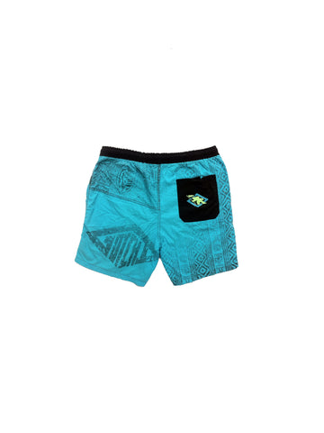 SOLD - Wicked 80s Wild Print Gotcha Swim Trunks – 34 to 40