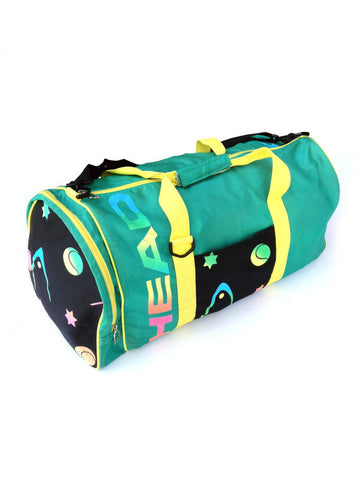 SOLD - Wild 90s Head Balls from Space Duffle Bag