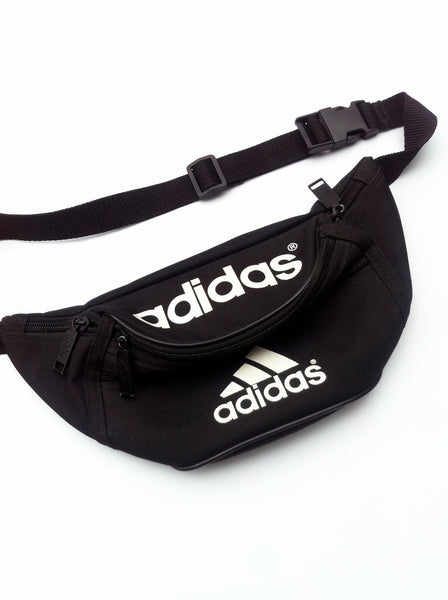 SOLD - Classic 90s Adidas Fanny Pack - 28 to 38