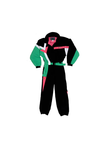 SOLD - Rare 80s Fila Colorblock Snow Suit - M
