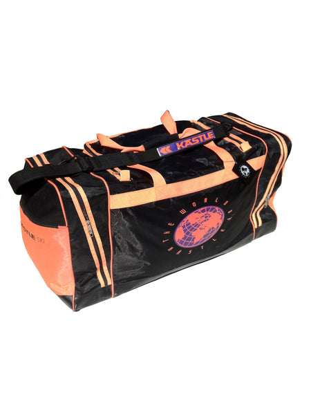 SOLD - Wicked 90s Neon Kastle Ski King Size Duffle Bag