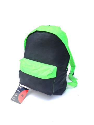 SOLD - Badass 80s Neon Green Deadstock Remo Backpack
