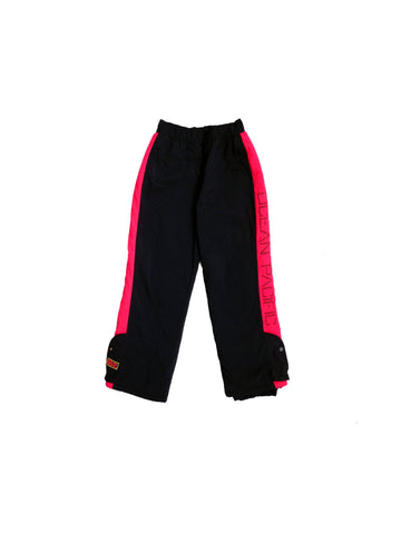 Wicked 80s Neon Salmon Ocean Pacific Snow Pants - 32 to 36