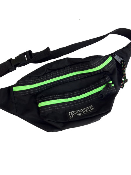 SOLD - Awesome 90s Neon Jansport Fanny Pack - 26 to 36