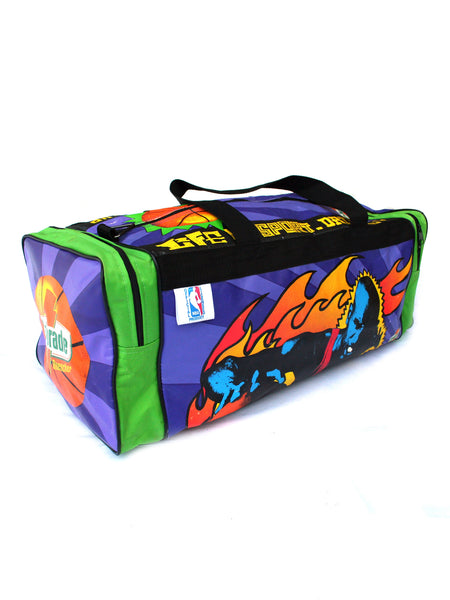 SOLD - Rare 90s Frank Kozik X Gatorade X NBA Duffle Bag (1/500)