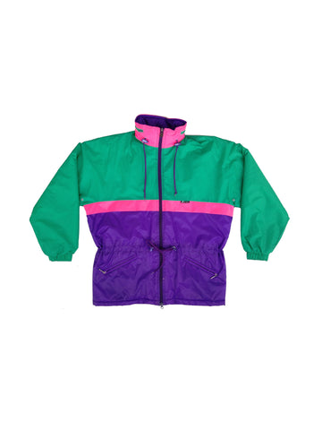 Rare 90s K-WAY Lightweight Insulated Long Ski Jacket - S