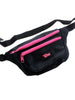 SOLD - Rad 90s Lynx Montreal Neon Accented Fanny Pack - 24 to 44