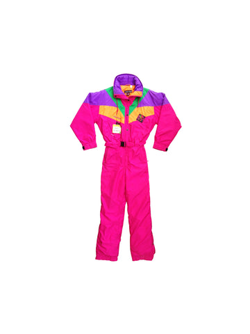 SOLD - Wild 80s Nevica Premiere Neige One Piece Snow Suit - S / M