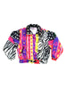 SOLD - Exquisitely Rad 90s Obermeyer Neon Tribal Ski Jacket - M / 8