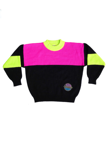 SOLD - Rare 80s Ocean Pacific 720 Airborne Knit Sweater - S