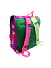 SOLD - Wild 90s Cheson Rainbow Print Neon'd Out Backpack