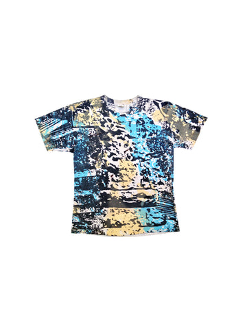 SOLD - Extreme 80s Ron Jon Surf Camo Allover Print T-Shirt - XL