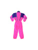 SOLD - Rad 1990 Sun-Ice Full Neon Multi-Flap One Piece Snow Suit - 10 / M