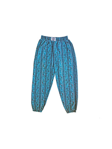 SOLD - Aqualicious 80s All Around The World Muscle Workout Pants - 30 to 46