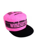 SOLD - Wicked 80s Windsurfing Cotton Flat Top Painters Cap
