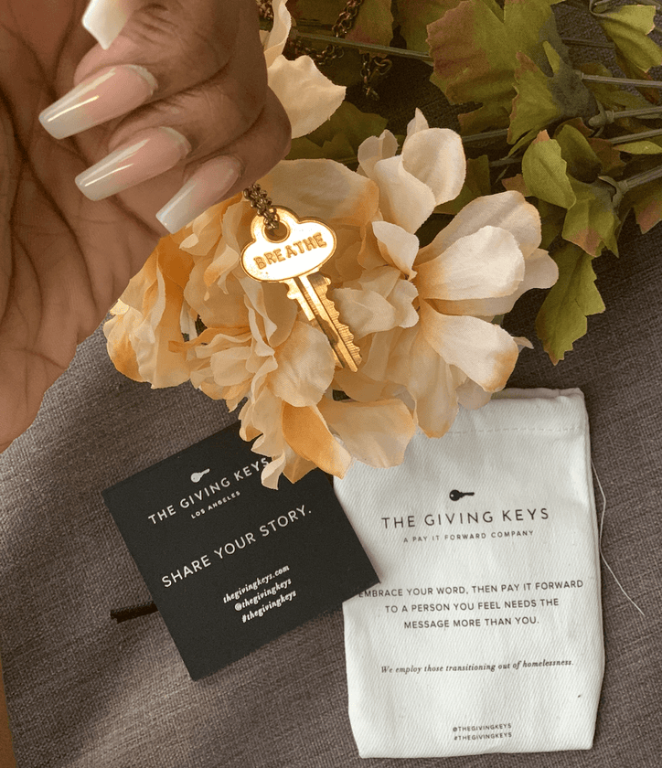 Stacy Ike x The Giving Keys: #GiftsThatGiveBack