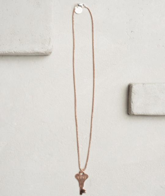 Precious Metal Necklace - Rose Gold