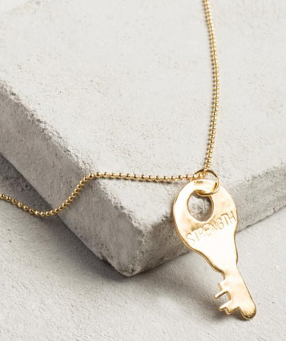 Precious Metal Necklace - 24K Gold