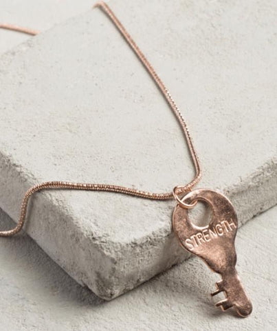 Precious Metals Necklace - ROSE GOLD