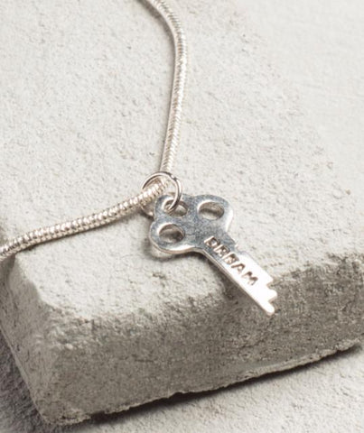 Precious Metal Necklace - STERLING SILVER