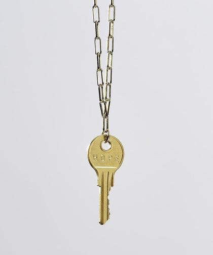 Brooklyn Classic Key Necklace Necklaces The Giving Keys