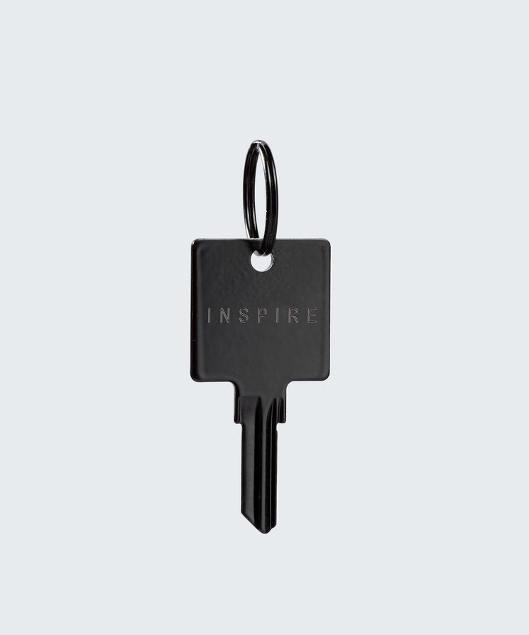Matte Black Original Keychain Key Chain The Giving Keys INSPIRE Matte Black