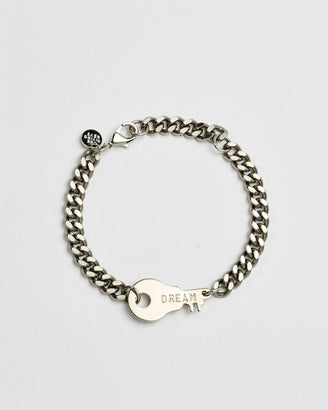 Rebel Never-Ending Key Bracelet Bracelets The Giving Keys