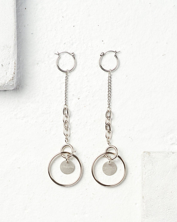Pa Statement Hoop Earrings