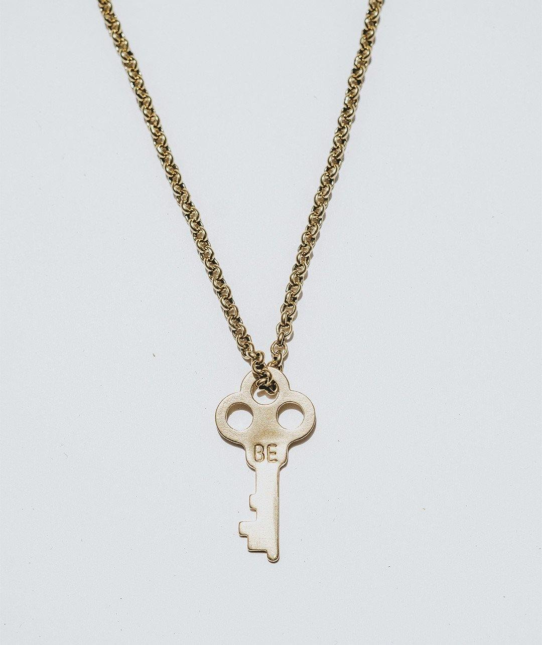 BE Key Necklace - FREE GIFT WITH PURCHASE