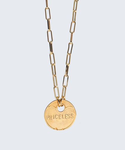 Lucky Coin Brooklyn Necklace Necklaces The Giving Keys GOLD PRICELESS