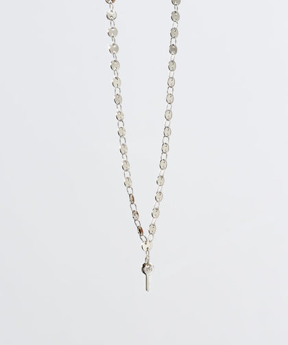 Barcelona Mini Key Necklace Necklaces The Giving Keys LOVE Silver