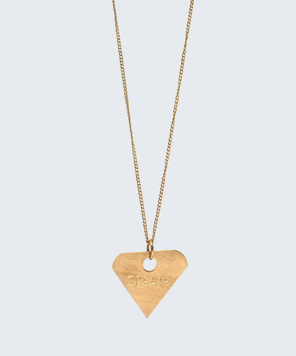 Diamond Pendant Dainty Necklace Necklaces The Giving Keys CREATE GOLD