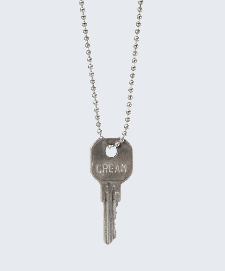 Vintage Classic Key Necklace Necklaces The Giving Keys DREAM SILVER