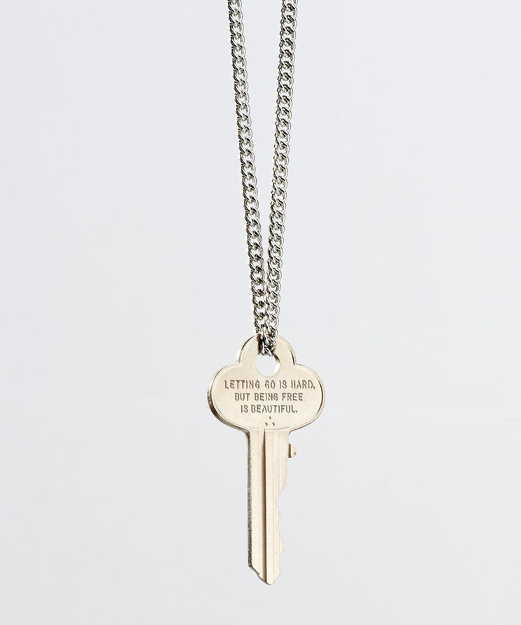 Wilder Poetry Classic Necklace Necklaces The Giving Keys BEING FREE SILVER
