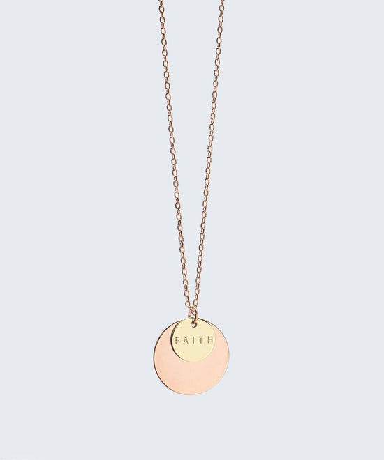Delicate Duo Necklace | The Giving Keys
