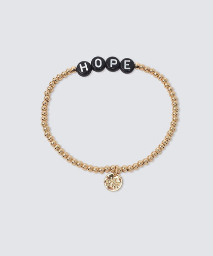 HOPE Beaded Bracelet Bracelets The Giving Keys GOLD