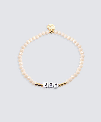 JOY Crystal Beaded Bracelet Bracelets The Giving Keys JOY
