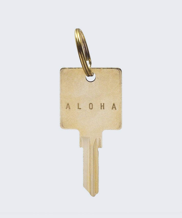 HE>i Keychain Key Chain The Giving Keys ALOHA Gold