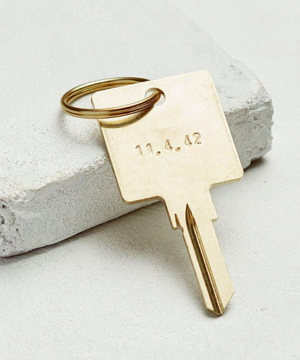 Date To Remember Keychain The Giving Keys