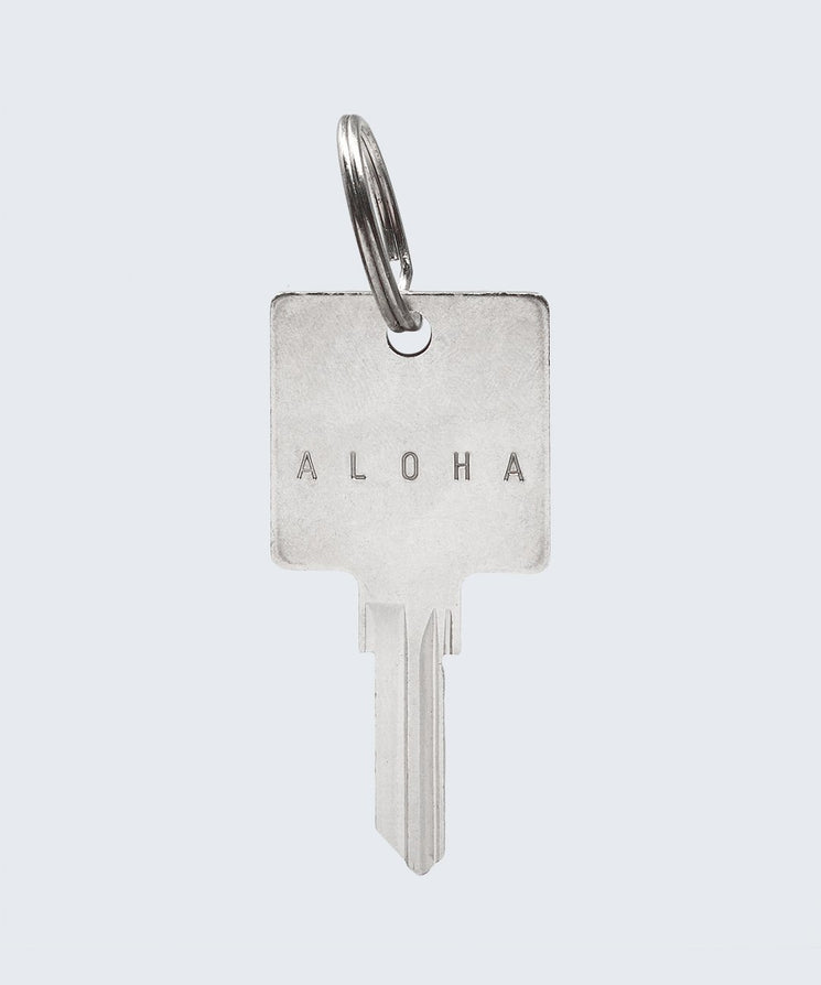 HE>i Keychain Key Chain The Giving Keys ALOHA Silver