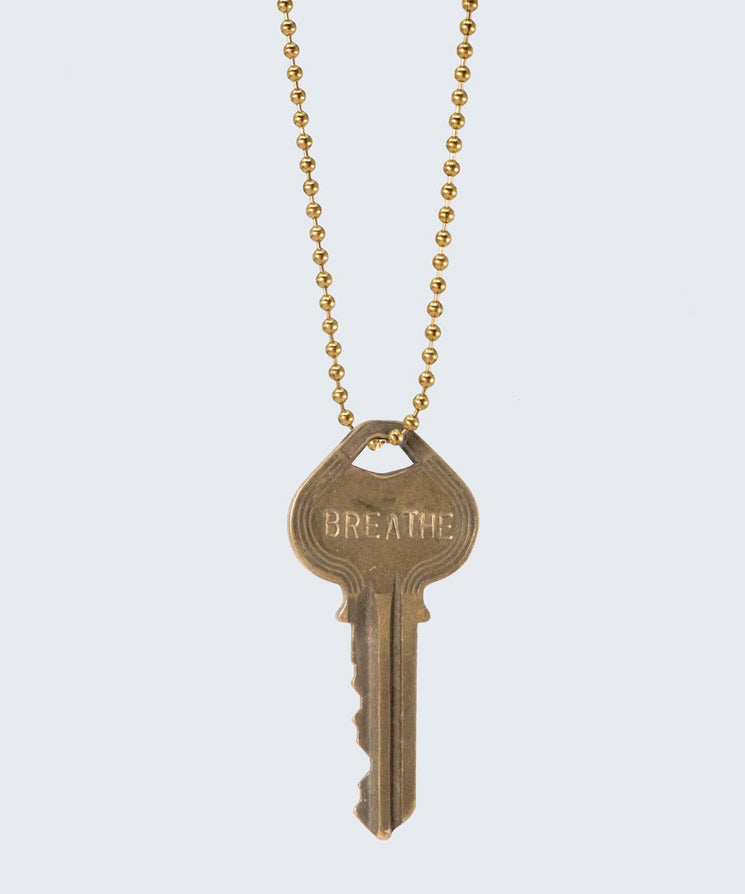 Vintage Classic Key Necklace Necklaces The Giving Keys CUSTOM GOLD