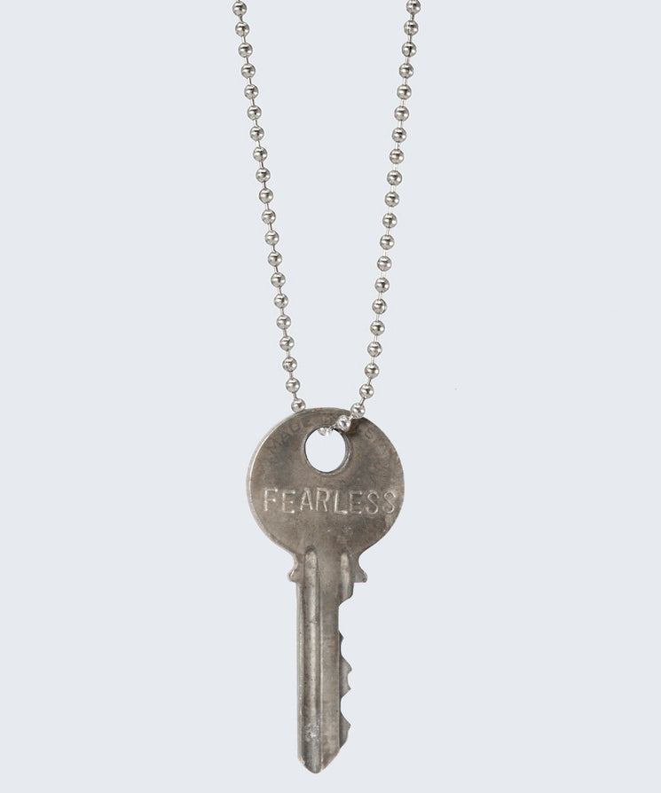Vintage Classic Key Necklace Necklaces The Giving Keys FEARLESS SILVER